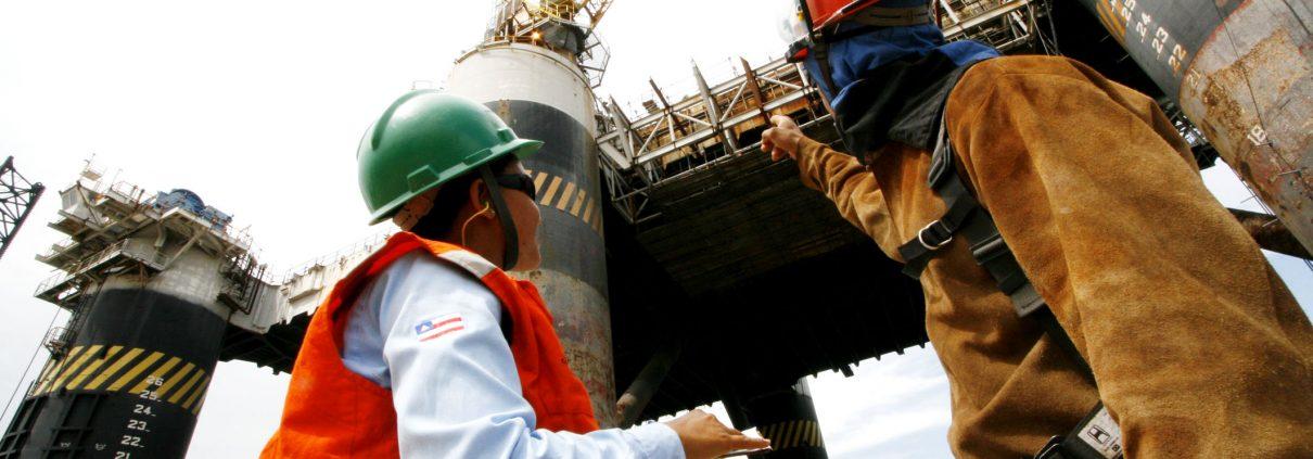 São Roque do Paraguaçu, estão sendo contruidas  duas Plataformas auto-elevatórias para a Petrobrás.  NA foto:   Foto: Ivan Erick   AGECOM